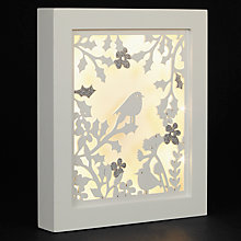 Buy John Lewis Snowshill Robin Wall Plaque Online at johnlewis.com
