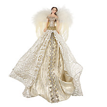 Buy John Lewis Ostravia Victoria Angel Tree Topper, Gold Online at johnlewis.com