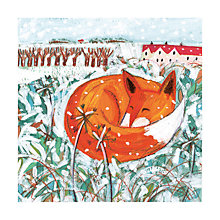 Buy Museums And Galleries Village Fox Charity Christmas Cards, Pack of 8 Online at johnlewis.com