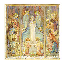 Buy Medici Unto Us A Child In Born Charity Christmas Cards, Pack of 8 Online at johnlewis.com
