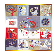 Buy Paperhouse The Twelve Days Charity Christmas Cards, Pack of 6 Online at johnlewis.com