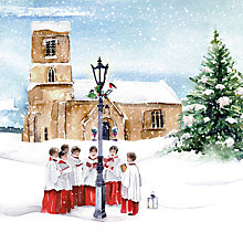 Buy Museums And Galleries Welcoming Choir Charity Christmas Cards, Pack of 5 Online at johnlewis.com