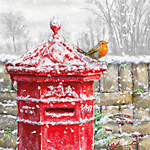 Buy Museums And Galleries Winter Post Box Charity Christmas Cards, Pack of 5 Online at johnlewis.com