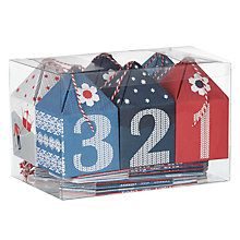 Buy John Lewis Chamonix Advent Boxes, Set of 24 Online at johnlewis.com