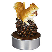 Buy John Lewis Ruskin House Squirrel Tealights, Pack of 6 Online at johnlewis.com