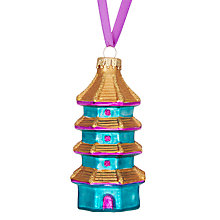 Buy John Lewis Shangri-La Pagoda Tower Bauble Online at johnlewis.com