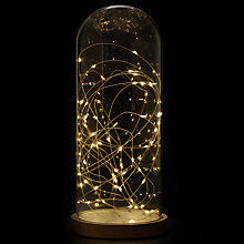 Buy John Lewis Snowshill 31cm Wire Light Dome Online at johnlewis.com