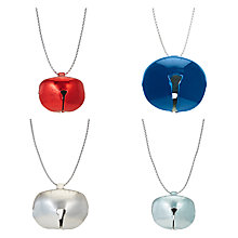 Buy John Lewis Chamonix Bells Tree Decorations, Pack of 50, Assorted Online at johnlewis.com