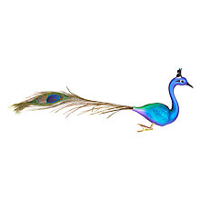 Buy John Lewis Shangri-La Peacock Feather Clip Online at johnlewis.com