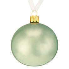 Buy John Lewis Ostravia Pearlised Bauble Online at johnlewis.com