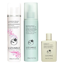 Buy Liz Earle Cleanse & Polish™ Hot Cloth Cleanser Rose & Lavender and Skin Repair Moisturiser™ Normal with Gift Online at johnlewis.com