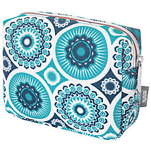 Buy Mini Moderns Darjeeling Cosmetics Bag, Blue Online at johnlewis.com