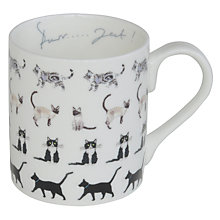 Buy Sophie Allport Cat Mug Online at johnlewis.com