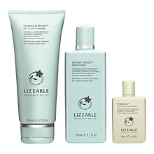 Buy Liz Earle Cleanse & Polish™ Hot Cloth Cleanser and Instant Boost™ Skin Tonic with Gift Online at johnlewis.com