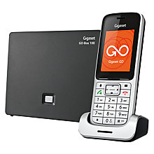 Buy Gigaset SL450A Go Digital Cordless Bluetooth Telephone with Answering Machine, ECO-DECT, Single Online at johnlewis.com