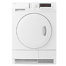 Buy John Lewis JLTDH21 Freestanding Heat Pump Tumble Dryer, 7kg Load, A+ Energy Rating, White Online at johnlewis.com