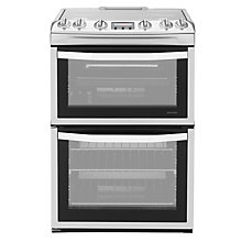Buy John Lewis JLFSGC616 Gas Cooker, Stainless Steel Online at johnlewis.com