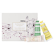 Buy L'Occitane La Collection de Grasse Hand Cream Trio Online at johnlewis.com