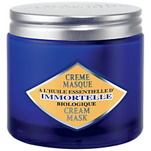 Buy L'Occitane Immortelle Cream Mask, 125ml Online at johnlewis.com
