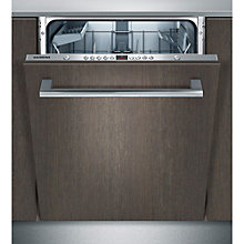 Buy Siemens SN65M033GB Integrated Dishwasher, Stainless Steel Online at johnlewis.com
