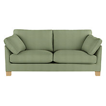 Buy John Lewis Ikon Large Sofa, Light Legs Online at johnlewis.com