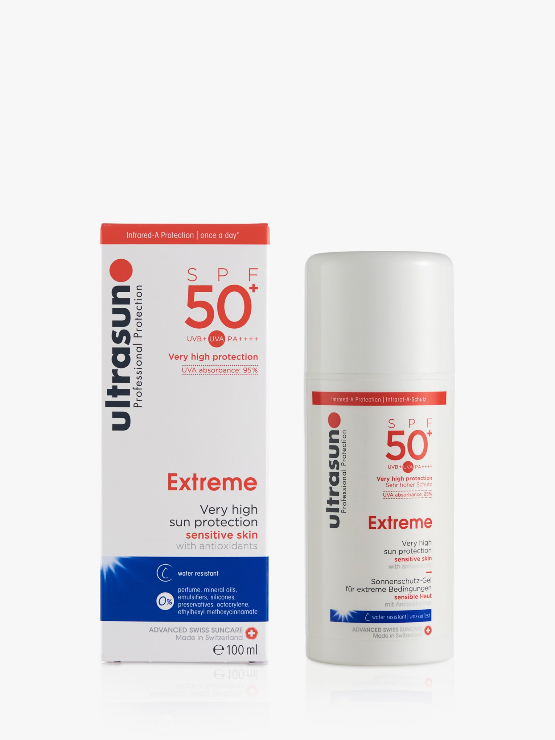 Ultrasun Ultrasun Extreme Sensitive SPF 50+ Sun Lotion, 100ml