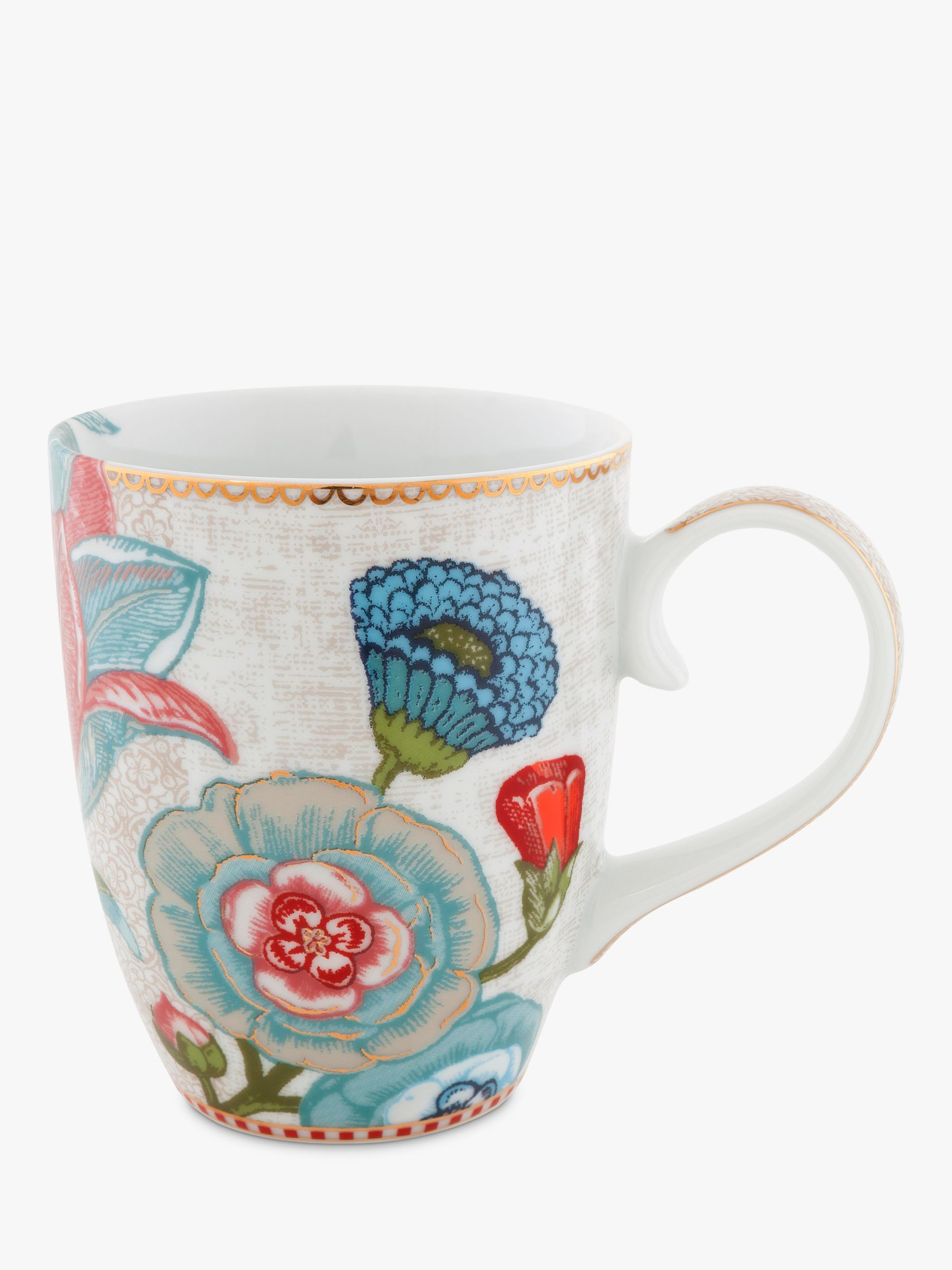 PiP Studio PiP Studio Spring to Life Large Mug, Cream
