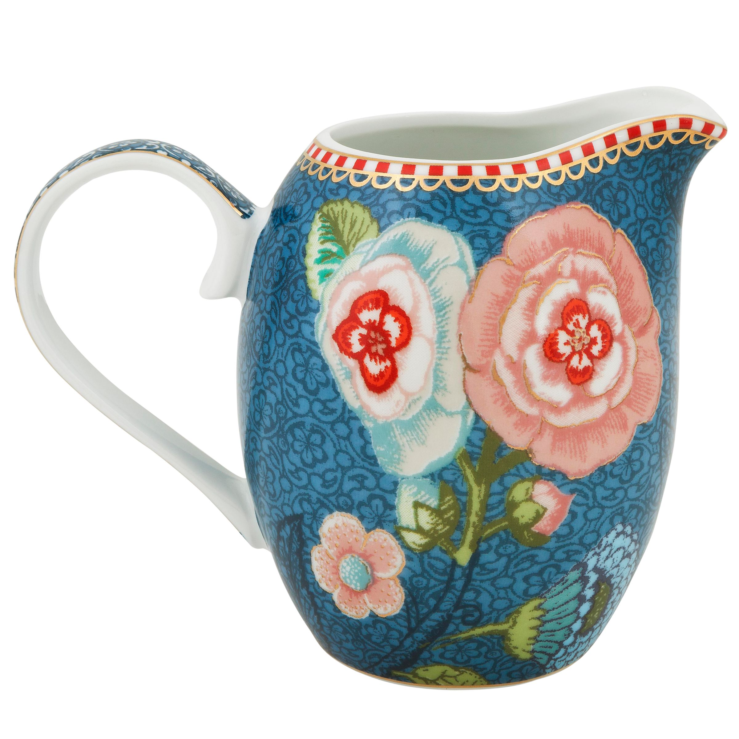 PiP Studio PiP Studio Spring To Life Small Jug, Blue