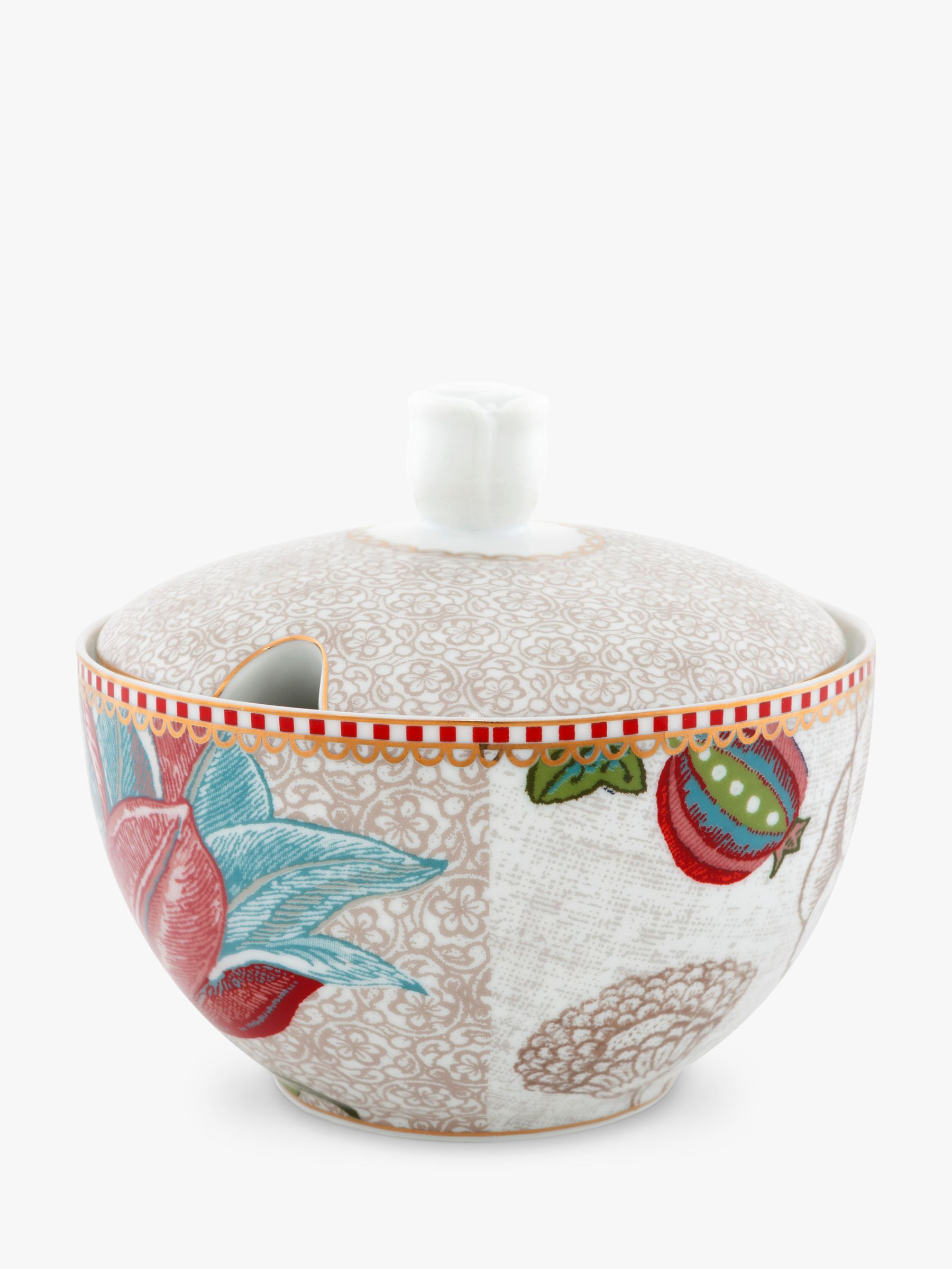 PiP Studio Pip Studio Spring to Life Sugar Bowl, Cream