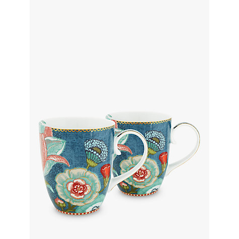 Buy pip studio spring to life large mug set of 2 blue - Pip studio espana ...