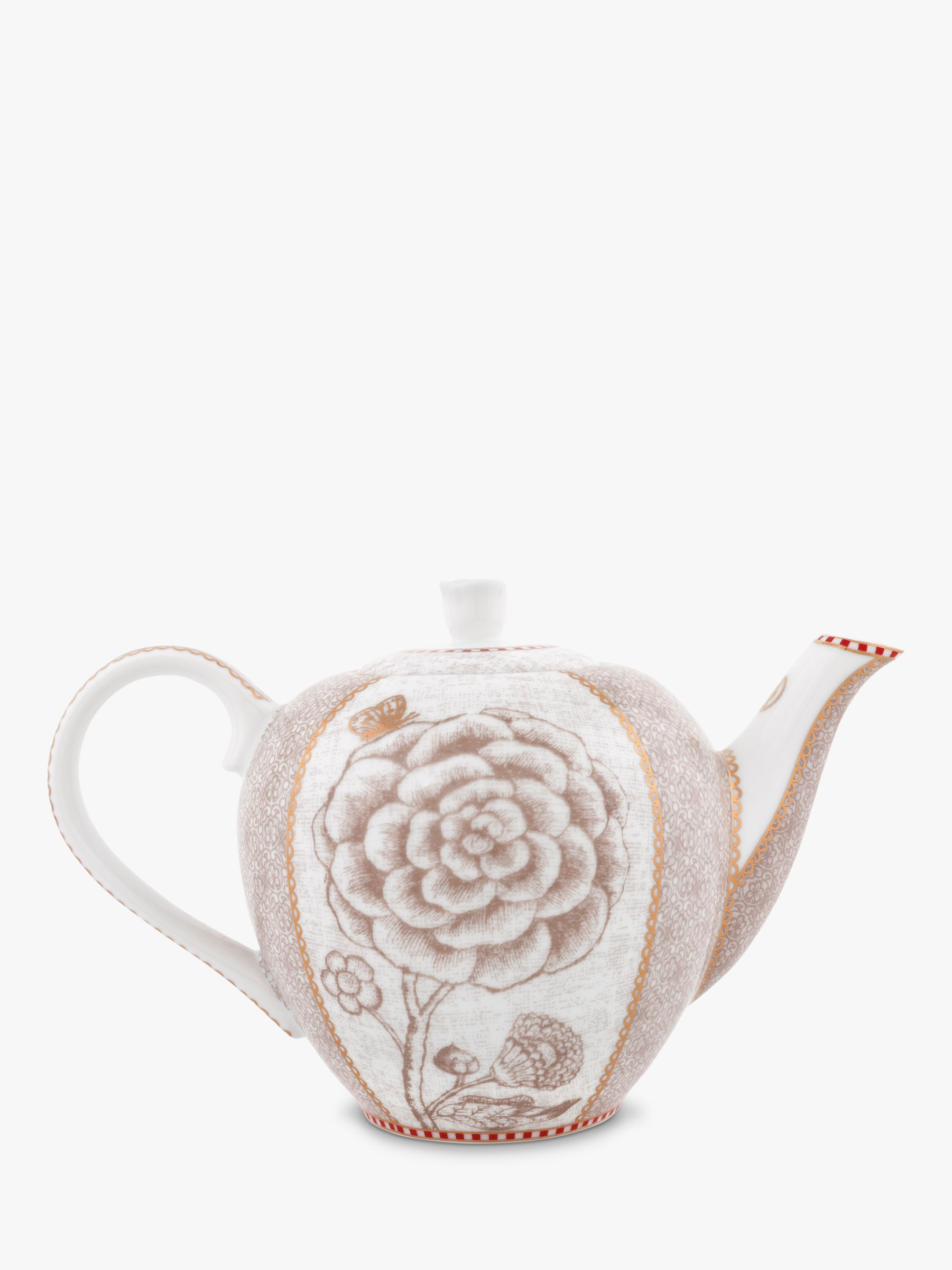 PiP Studio PiP Studio Spring to Life Small Teapot, Cream
