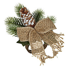 Buy John Lewis Pinecone Napkin Ring Online at johnlewis.com