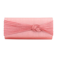 Buy Jacques Vert Delicate Knot Trim Bag, Coral Online at johnlewis.com