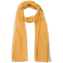 Buy Gerard Darel Cafi Scarf, Yellow Online at johnlewis.com