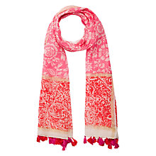 Buy Gerard Darel Cidonie Scarf, Pink Online at johnlewis.com