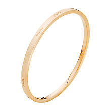 Buy Folli Follie Match & Dazzle Bangle, Rose Gold Online at johnlewis.com