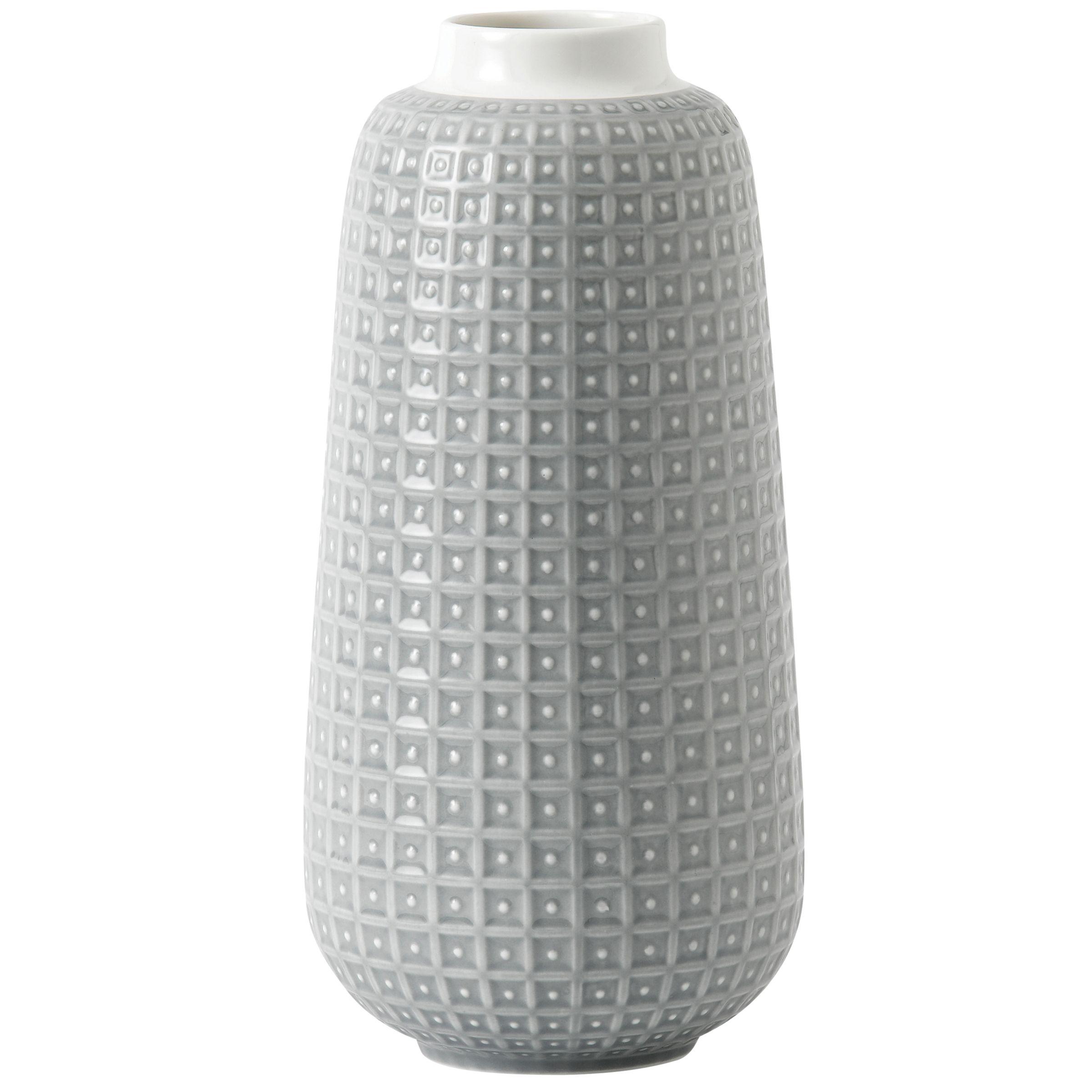 Royal Doulton HemingwayDesign for Royal Doulton Rose Vase, H28cm, Grey