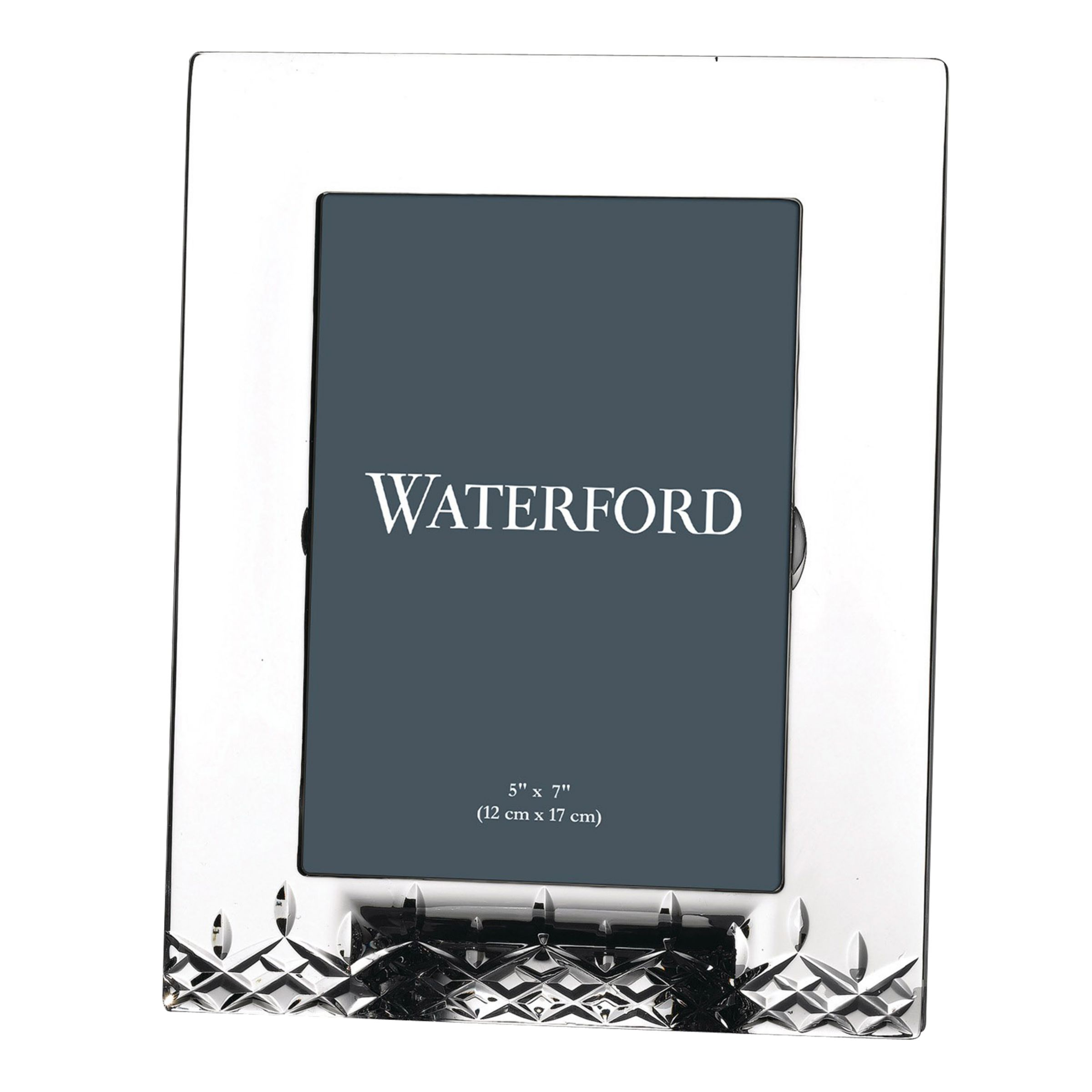 Waterford Waterford Crystal Lismore Essence Picture Frame, 5 x 7