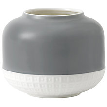 Buy HemingwayDesign for Royal Doulton Rose Vase, H14.3cm, Grey Online at johnlewis.com