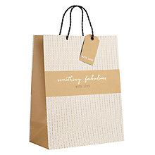 Buy John Lewis Something Fabulous Gift Bag, Medium Online at johnlewis.com