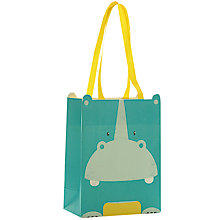 Buy John Lewis Hippo Gift Bag, Mini Online at johnlewis.com