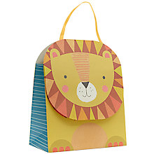 Buy John Lewis Lion Gift Bag, Medium Online at johnlewis.com