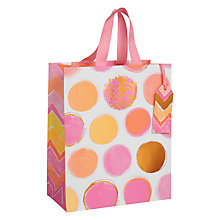 Buy Paper Salad Spot Gift Bag, Medium Online at johnlewis.com