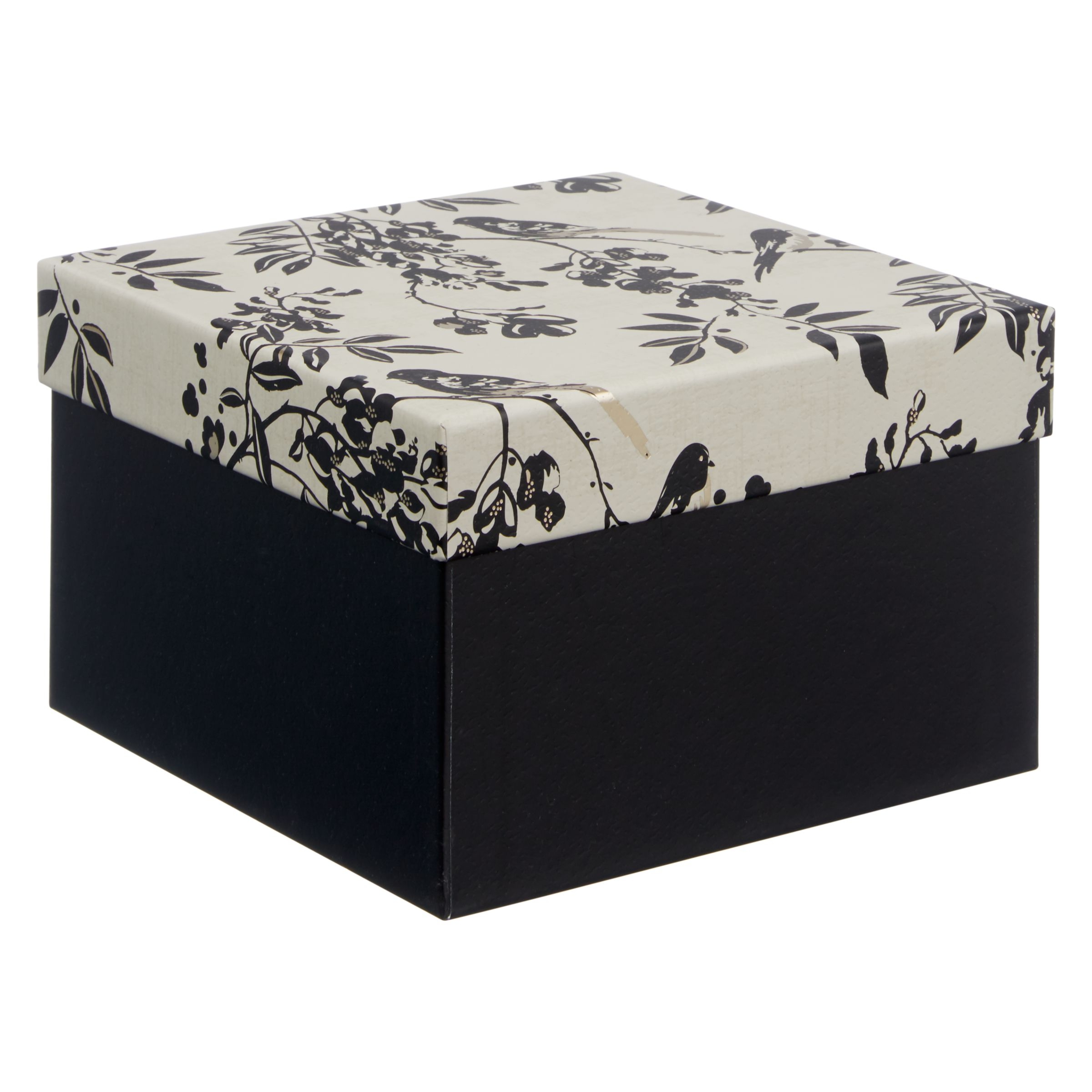 Wedding Gift List Wording John Lewis : Buy John Lewis Wedding Gift Box, Small, Black John Lewis