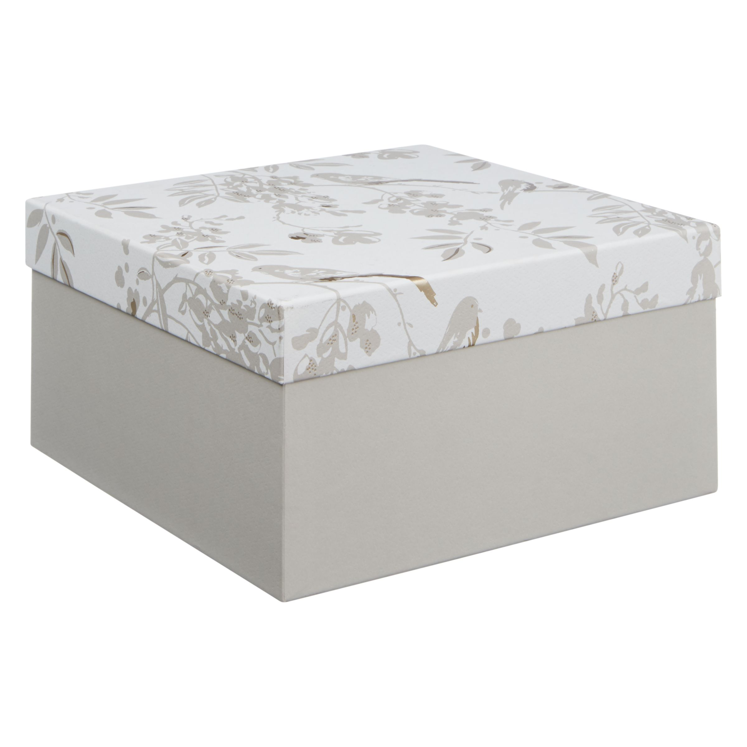 Buy John Lewis Wedding Gift Box, Large, White Online at johnlewis.com