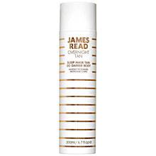 Buy James Read Tan Sleep Mask Go Darker Body, 200ml Online at johnlewis.com