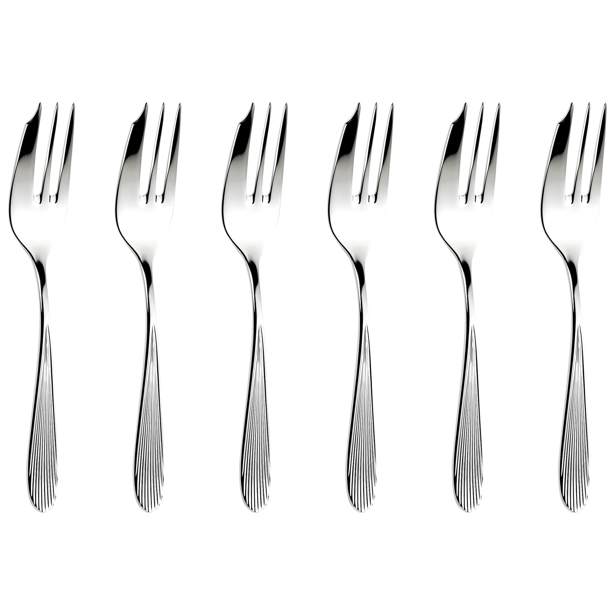 Sophie Conran for Arthur Price Sophie Conran for Arthur Price Dune Pastry Forks, Set of 6