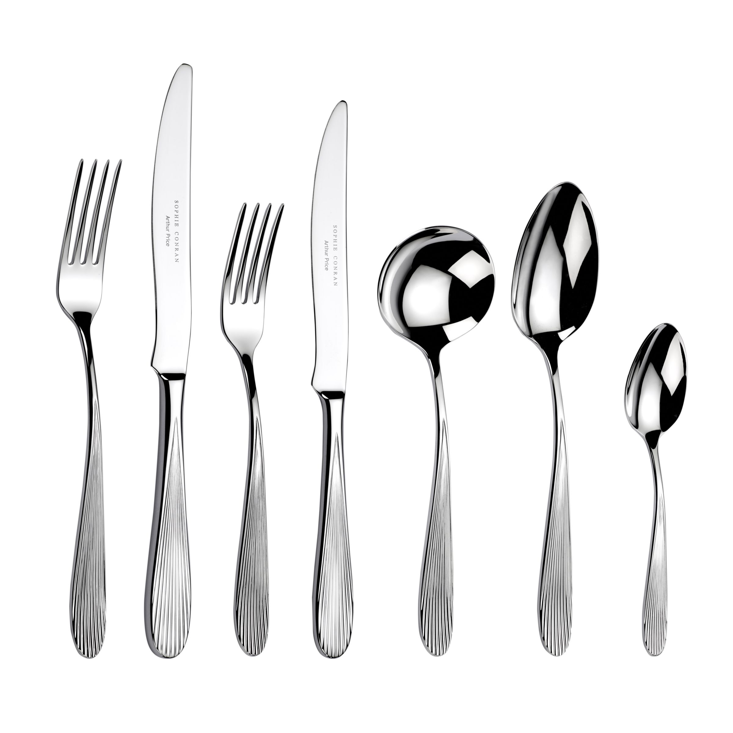 Sophie Conran for Arthur Price Sophie Conran for Arthur Price Dune Cutlery Set, 7 Piece