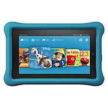 "Buy New Amazon Fire Kids Edition 7 Tablet, Quad-core, Fire OS, 7"", Wi-Fi, 16GB Online at johnlewis.com"