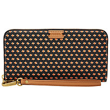 Buy Fossil Emma Large Zip Clutch Bag Online at johnlewis.com